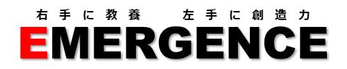 社員研修 EMERGENCE-JAPAN